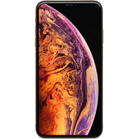 Wholesale Used Apple iPhone XS MAX Phone, front view with display on.png