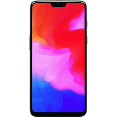 Wholesale Used OnePlus 6 Phone, front view with display on.png