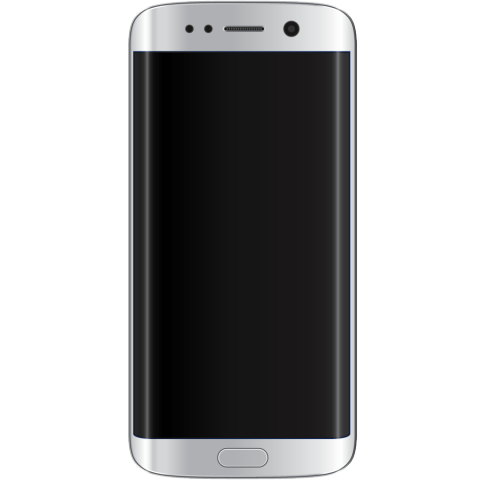 Wholesale Used Samsung Galaxy S6 Edge White Front Smartphone.png