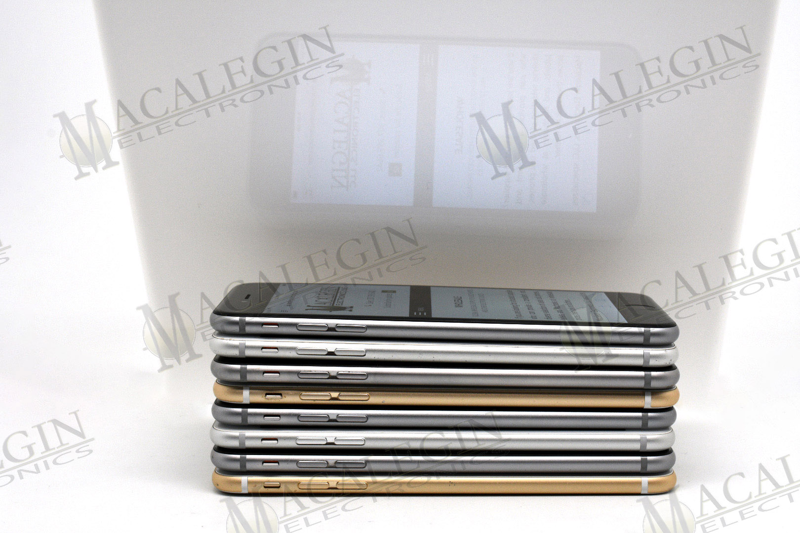 Used APPLE A1522 IPHONE 6 PLUS 16GB UNLOCKED in PGL condition for sale from Macalegin Electronics at $142 a piece.