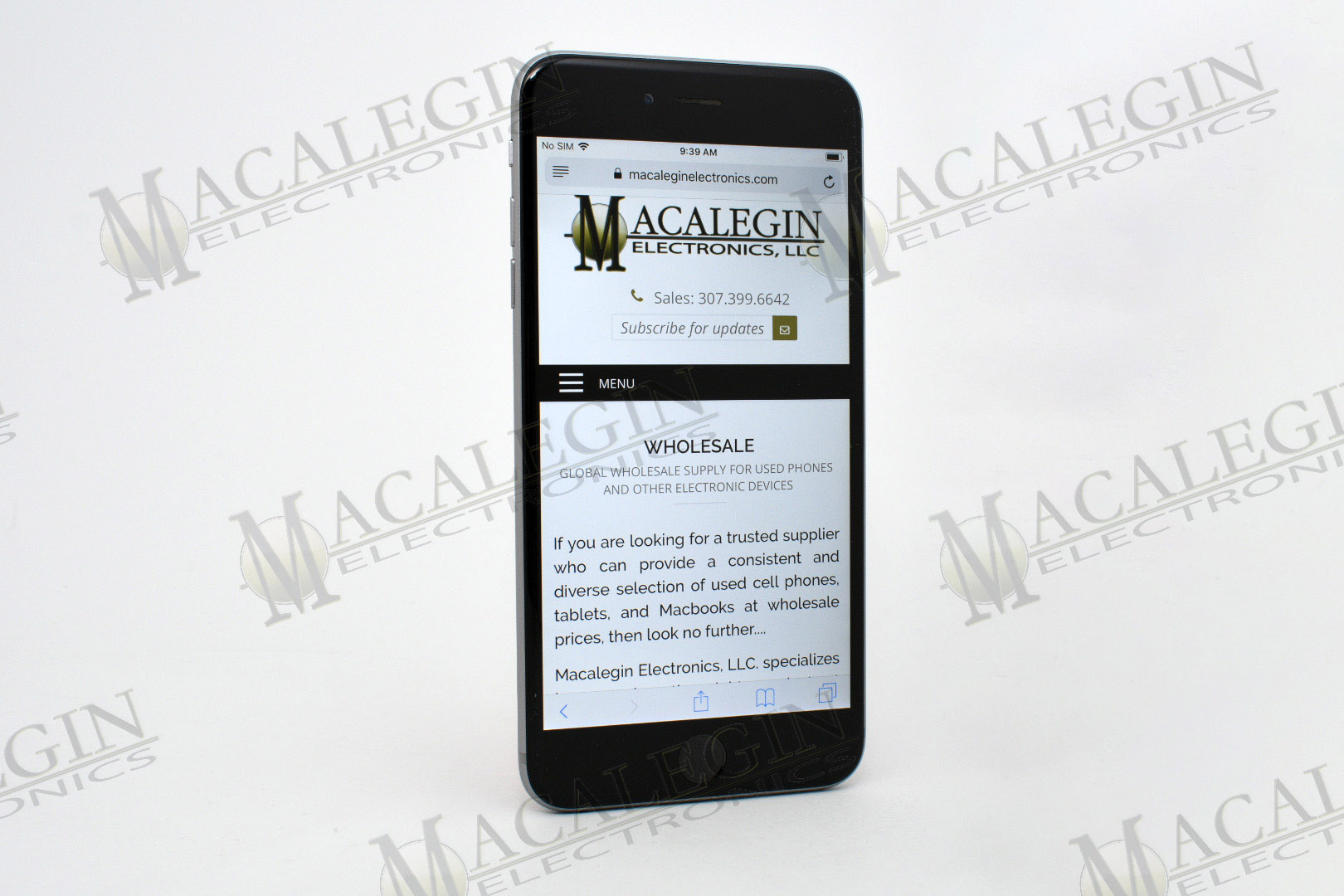 Used APPLE A1522 IPHONE 6 PLUS 128GB UNLOCKED in PGL condition for sale from Macalegin Electronics at $172 a piece.