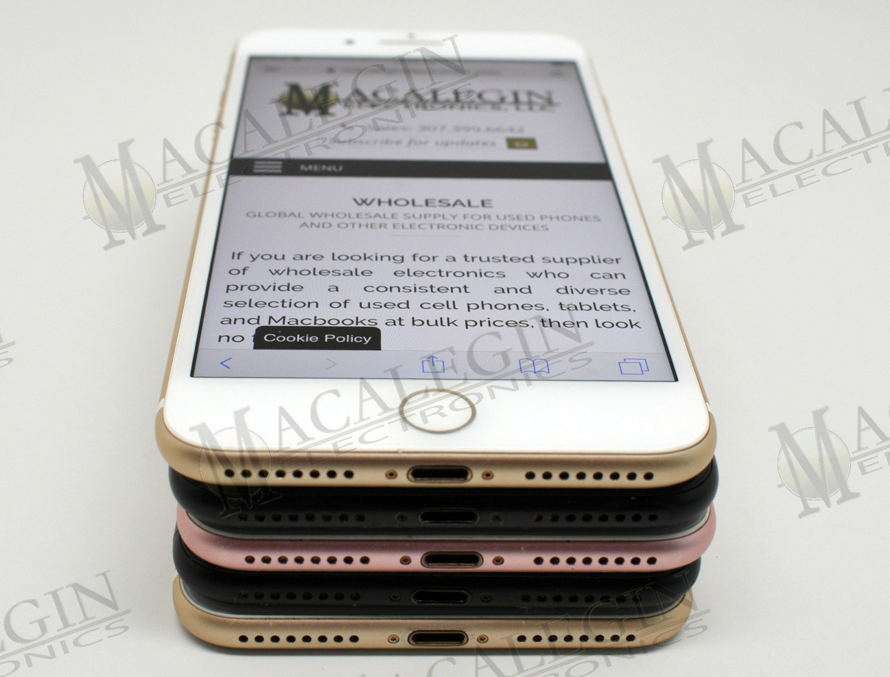 Used APPLE A1784 IPHONE 7 PLUS 128GB UNLOCKED in PGL condition for sale from Macalegin Electronics at $290 a piece.