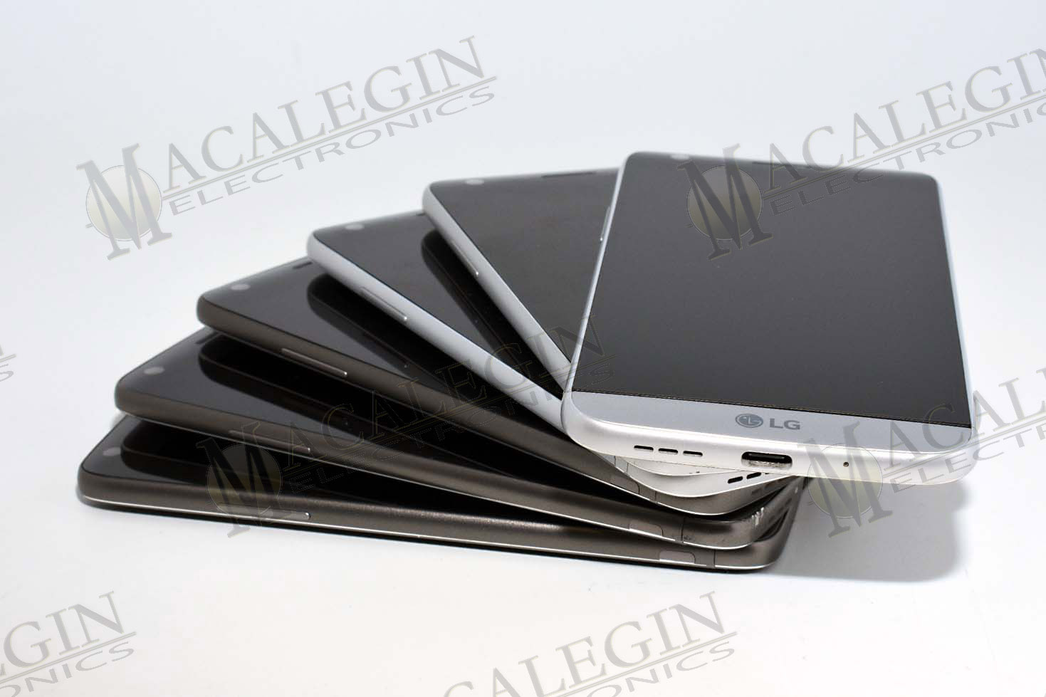 Used LG H830 G5 T-MOBILE in PGL condition for sale from Macalegin Electronics at $55 a piece.