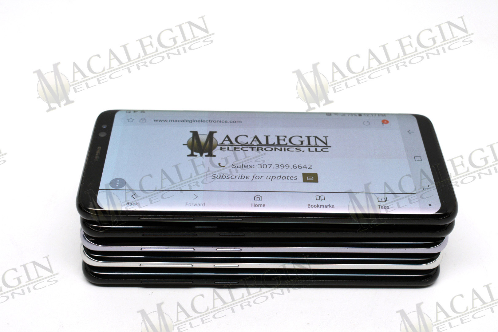 Used SAMSUNG SM-G950W GALAXY S8 UNLOCKED in PFL condition for sale from Macalegin Electronics at $172 a piece.
