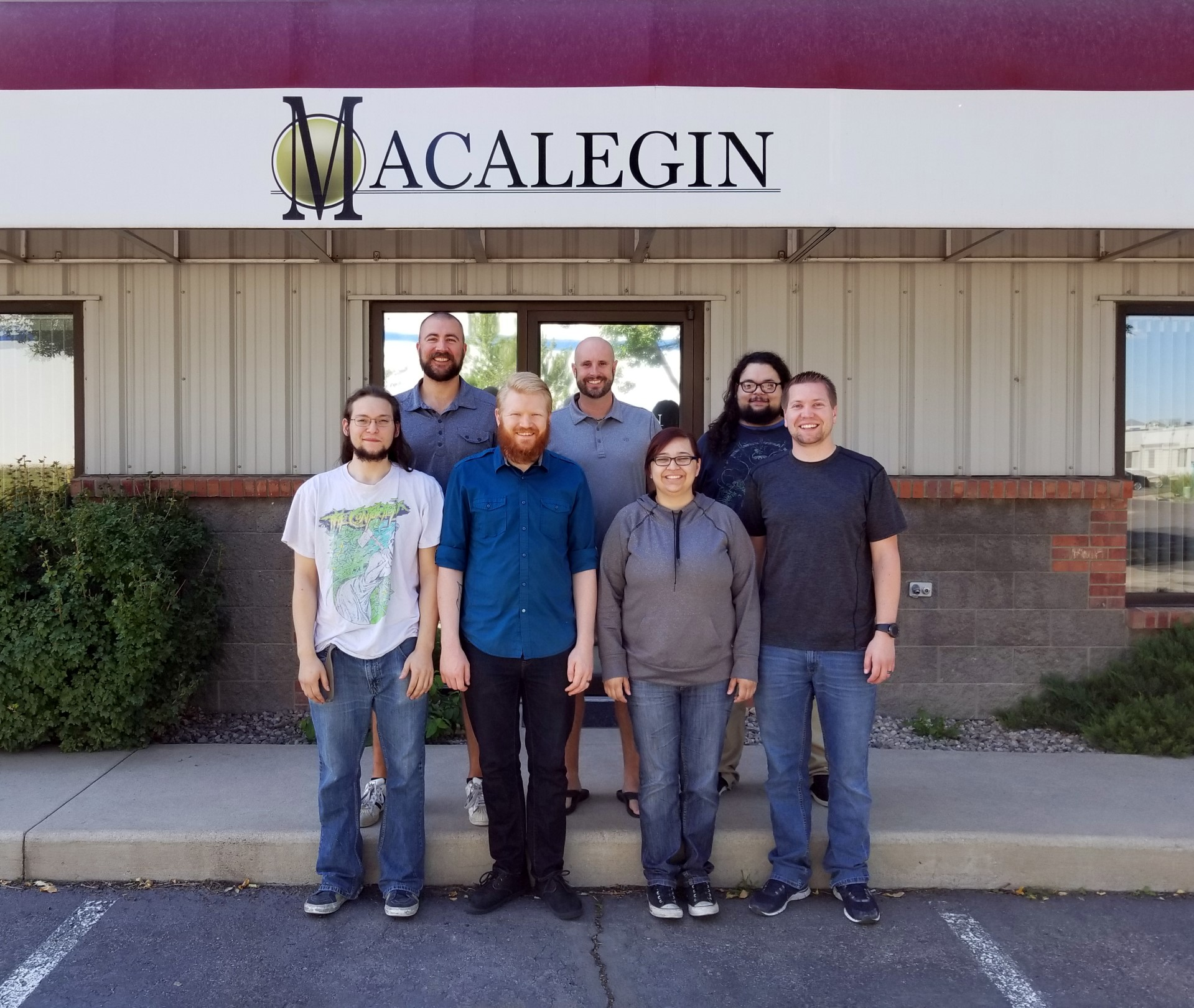 Repair, operations, and sales team for Macalegin Electronics - Wholesale Used Phones, Tablets, and Macbooks